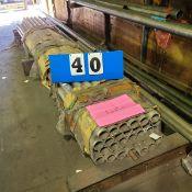 "6061 ROUND TUBE 2.5 OD"" X .25 WALL - 26 @ 144"", 5@ 240"", 191"", 120"""