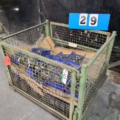 WIRE TOTE W/LARGE ASSORTMENT OF UNITOOL PUNCHES AND DIE PARTS
