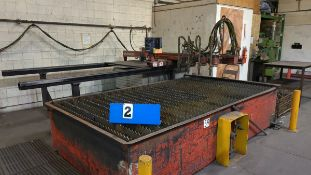 BURNING TABLE - ARONSON IK-1500G BURN TABLE W/ HL-82 CO-ORD DRIVE TRACING SYSTEM TYPE 1864C82G01,