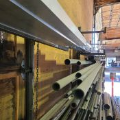 7 TIER OF STEEL C/W RACK - SEE PDF CONTENT DESCRIPTION ON OUR WEBSITE WWW.JOINERSALES.COM
