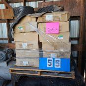"24 BOXES OF STEP TREAD 6"" BLACK W/LIP, 50' EA. BOX"