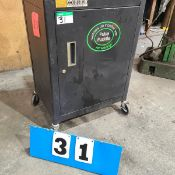 PULSE PUDDLE MOD. X5000 ARC WELDING UNIT W/ACCESSORIES AND CABINET
