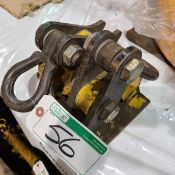 PAIR OF TIGRIP PLATE LIFTING CLAMPS