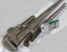 RIDGID 36 IN. AND 24 IN. PIPE WRENCHES
