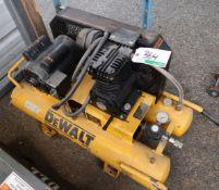 DEWALT D55170 PORTABLE AIR COMPRESSOR, 1.5HP