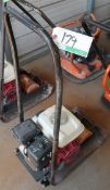 MBW NARROW PLATE COMPACTOR W/HONDA ENGINE