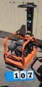 APT COMPACTOR, RP200, 500 LB., W/HONDA ENGINE