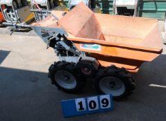 2013 BELLE MINI DUMPER, MOD. BMD01, W/HONDA ENGINE
