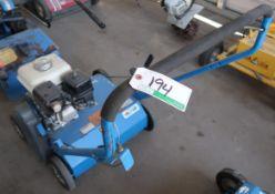 BLUEBIRD PR18 LAWN POWERRAKE W/HONDA GX160 ENGINE