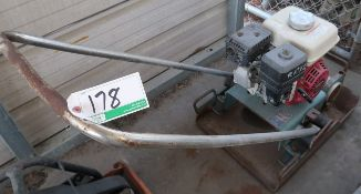 BARTELL PLATE COMPACTOR W/HONDA ENGINE