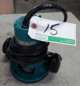 MAKITA 3606 ELECTRIC ROUTER