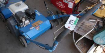 BLUEBIRD PR18 LAWN POWER RAKE W/HONDA GX160 ENGINE