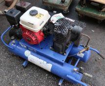 CAMPBELL PORTABLE AIR COMPRESSOR W/HONDA GX160 5.5HP ENGINE