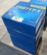 4 BOXES YHE71T-1 FLUX-CORED WELDING WIRE-15 KG./BOX
