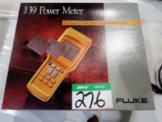 FLUKE MOD. 39 POWER METER C/W MANUALS AND ATTACHMENTS