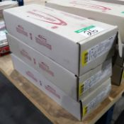 6 BOXES SUMY 4.0 MM X 450 MM ELECTRODES - 44 LB./BOX