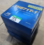 3 BOXES YHE71T-1 FLUX-CORED WELDING WIRE-15 KG./BOX