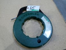 GREENLEE, 78-3310-28256 STEEL FISH TAPE - 100 FT. X 1/8 IN., 400 LB. STRENGTH