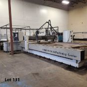 """WATERJET CUTTING TABLE - 2008 OMAX WATER JET CUTTING TABLE, MOD. 80160, S/N E511753, 80"""" X 160"""""""