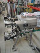 Alexanderwerk Portable Stainless Sieve, Model SKM/NR, S/N 04831867