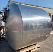 Lee 1000 gallon Stainless Steel Vertical Tank