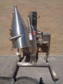 Quadro Vacuum Powder Feeder, Model 820-60-00125, SN 820-0125.