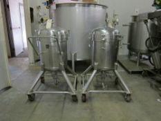 Walker 75 Liter Portable Stainless Steel Vacuum & Pressure Tank, Model SP, National Board # 2458
