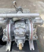 Sandpiper Diaphragm Pump, Model S05-B1S2TANS700, S/N 1778406, 125 psi