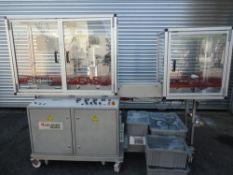 Klockner Pilot Blister Pack Machine, Thermoformer, Model EAS. 3/60/220V