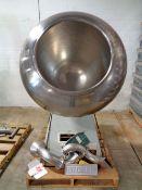 "Stokes 42"" Spun Coating Pan, Model ID, S/N B38606"