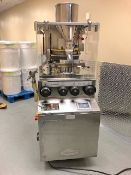 Cadmach 32 Station Stainless Steel Single Sided Tablet Press, Model CTX-32