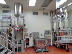 Collette Gral 600 Liter Stainless Steel High Shear Granulator, S/N 88MG60078