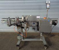 CVC Automatic Pressure Sensitive Labeler, Model 300 II, S/N 0107017