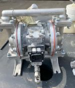 Sandpiper Diaphragm Pump, Model S05-B1S2TANS700, S/N 1763016, 125 psi