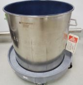 Eagle 75 Liter 316 SS Teflon Coated Container, Model CTL-47-SMA