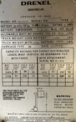 Drexel Swing Mast Forklift, Model SL-44-3, S/N 15019-2-65