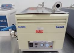 Grant Water Bath, Model SUB36/SP, S/N 004496-001