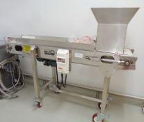 Unused Kamflex Inspection Conveyor, Model 704, S/N 20011199