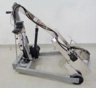 Morse Stainless Steel Drum Lift, Model 400S-72-115, S/N 293653-001