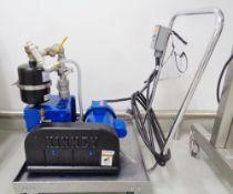 Kinney (Tuthill) Vacuum Pump, Model KC8, S/N 25430211, 1/2 HP