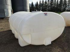 2000g US Water Tank w/2in Valve & Mounting Brackets