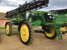 2009 4830 100' High Clearance Sprayer VIN# N04830X003747, 2154 hrs, 858 Spraying hours, Traction Con