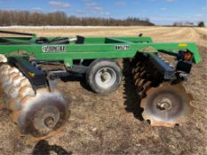 2012 19Ft Frontier DH5219 Heavy Duty Disc (Like New) 27.5in Discs (One Owner Unit) s/n 1XFDH52XPC00