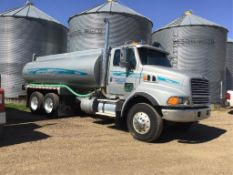 1998 Ford LT9513 T/A Water Truck VIN 1FDYS96M3WVA36106 Cat C-12 V-8 Eng, 18spd Trans, 3-way Lockers