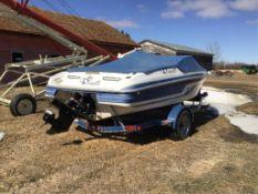 1996 Reinell 184brxl 19Ft Boat & Trailer 4.3LX V6 MerCuiser Inboard Eng & Alpha One MerCruiser Leg.