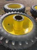 1 set of (4) 420/80R46 Sprayer Tires/Duals