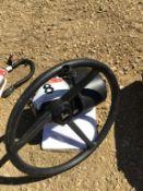 John Deere Auto ATU Steering Wheel S/N PCUT00C380710