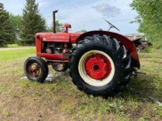 1952 W4 McCormick International Tractor s/n WBH32468 540PTO s/n WBH32468 540PTO