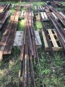 Qty of Rod & Flat Iron