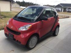 2010 Fortwo 2-Door Smart Car VIN WMEEJ3BA6AK408956 66,525km Auto Trans VIN WMEEJ3BA6AK408956 66,